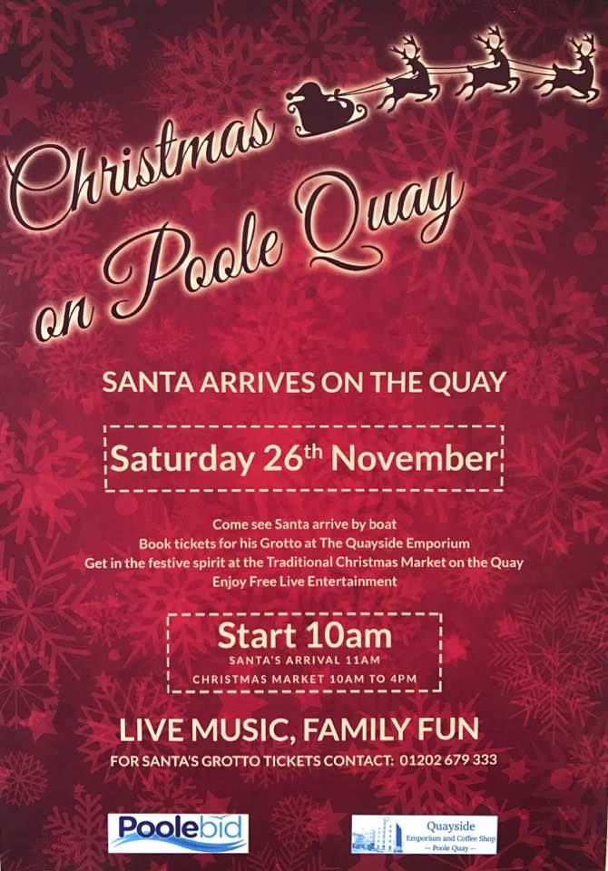 SANTA IS COMING TO POOLE!